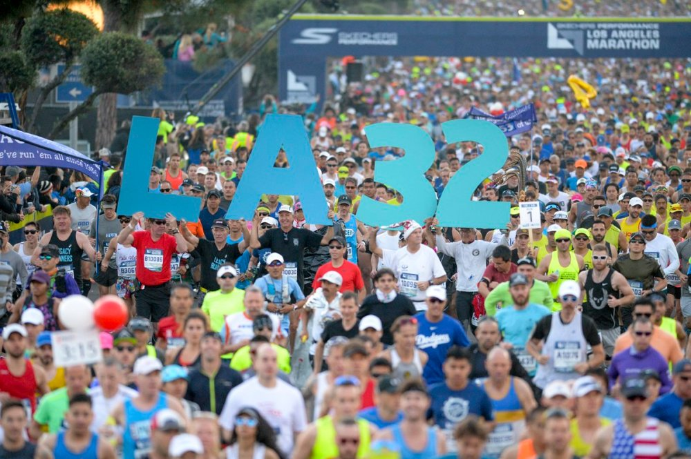 la marathon 2017 start