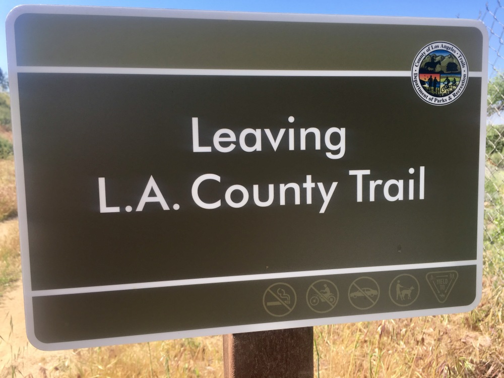 leaving trail